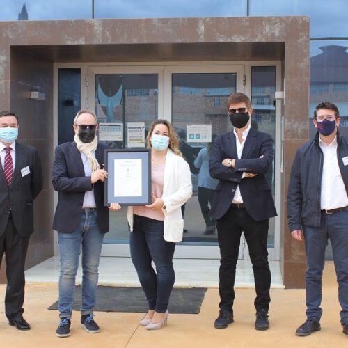 Cotoblau es converteix en la primera indústria tèxtil d'Espanya en aconseguir la certificació ISO 28000