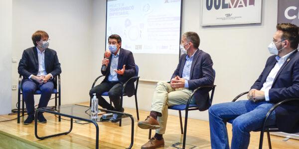 Ontinyent, l'Olleria i Bocairent treballen per a impulsar la competitivitat empresarial