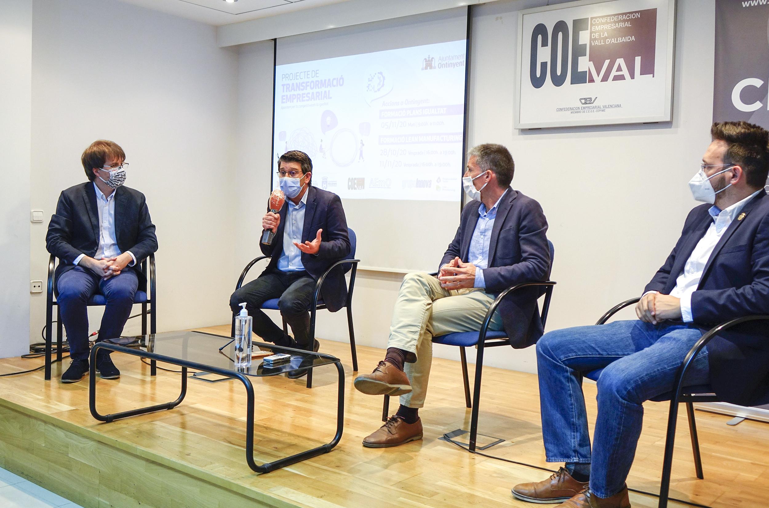 Ontinyent, l'Olleria i Bocairent treballen per a impulsar la competitivitat empresarial El Periòdic d'Ontinyent - Noticies a Ontinyent