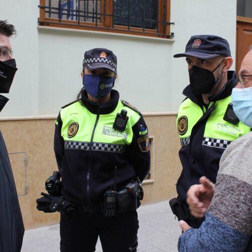 La Policia Local podrà gravar actuacions amb l'adquisició de càmeres unipersonals