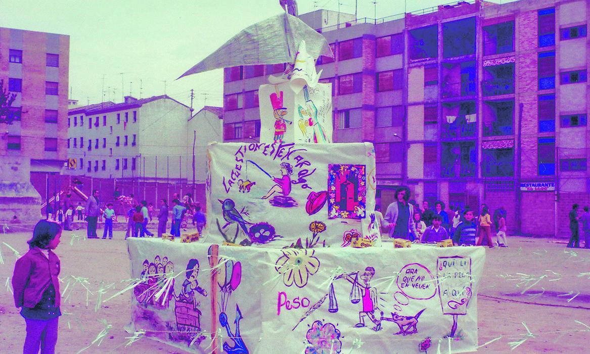 Hui, homenatge a la Falla dels Juniors de Sant Josep El Periòdic d'Ontinyent