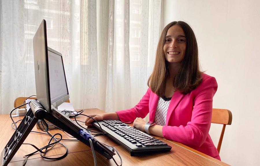 Andrea Puertas, l'ontinyentina que treballa en la principal fabricant d'avions del món El Periòdic d'Ontinyent - Noticies a Ontinyent