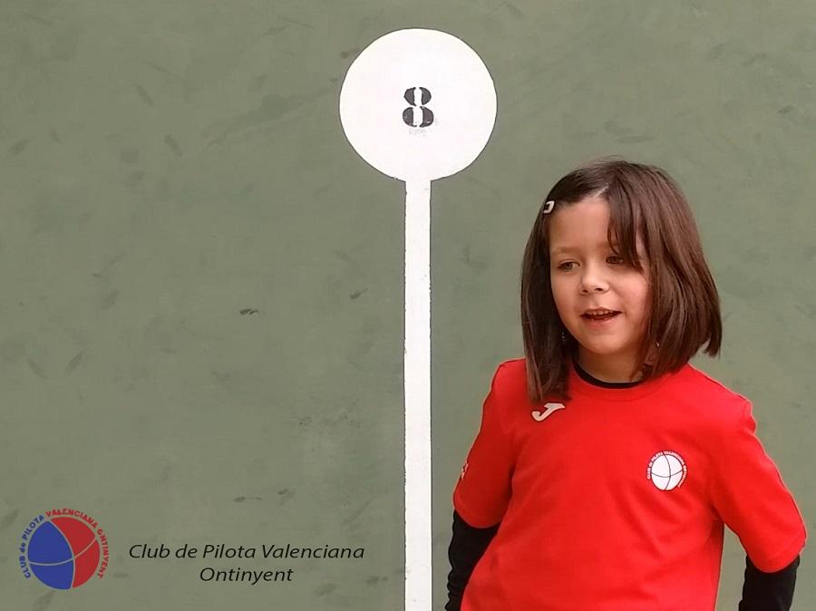 Laia Úbeda, el futur de la pilota femenina a la ciutat El Periòdic d'Ontinyent
