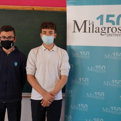 Alumnes de la La Milagrosa inventen una App de caràcter social