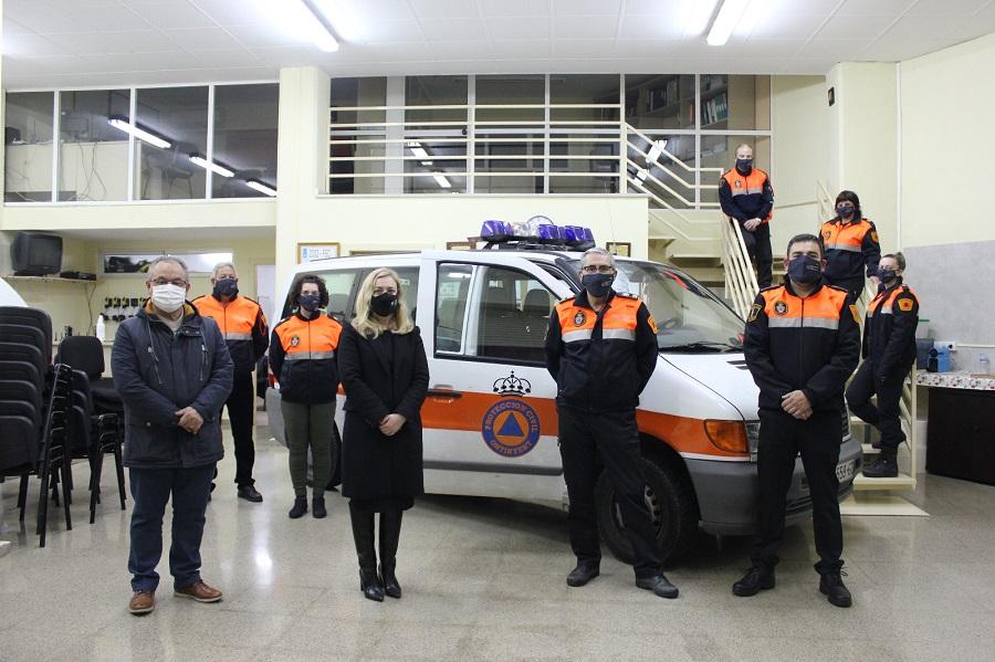 Ontinyent destaca en el Dia Internacional de Protecció Civil la tasca del voluntariat El Periòdic d'Ontinyent