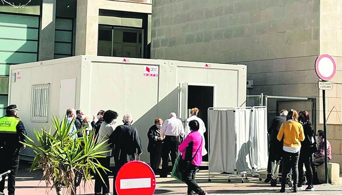 Quatre equips vacunaran de forma simultània a Ontinyent El Periòdic d'Ontinyent - Noticies a Ontinyent