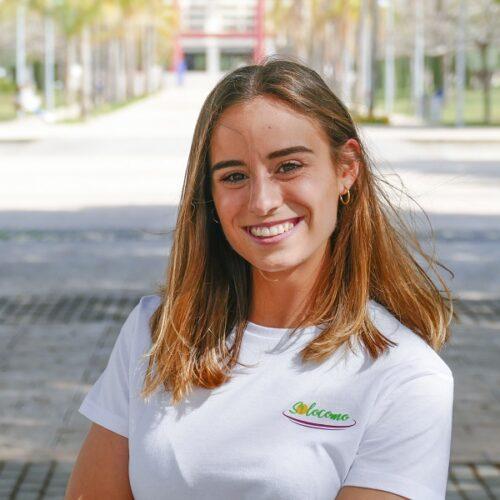 Claudia Cambra, la jove darrere de l'app Silocomo