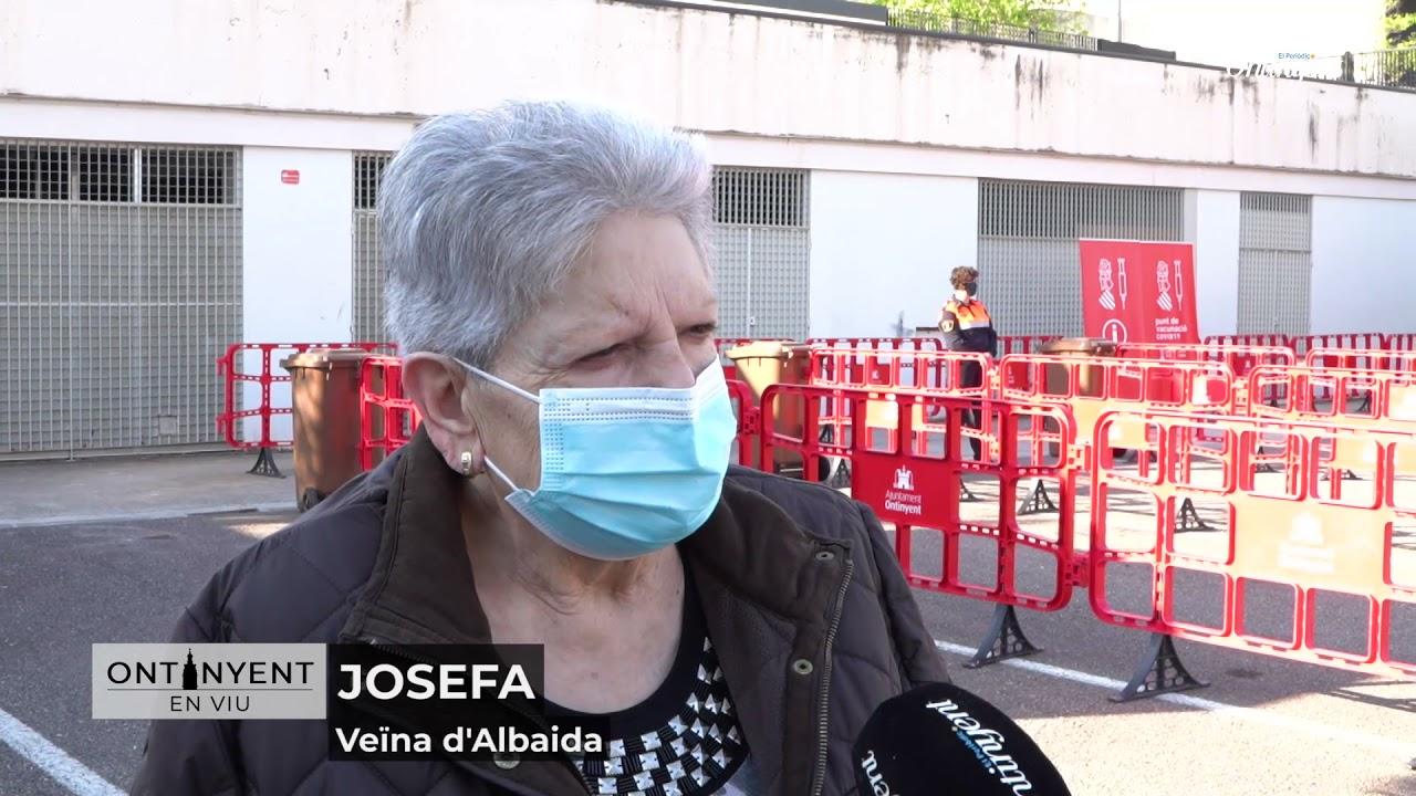 Ontinyent en Viu - Vacunació a la Sala Gomis El Periòdic d'Ontinyent