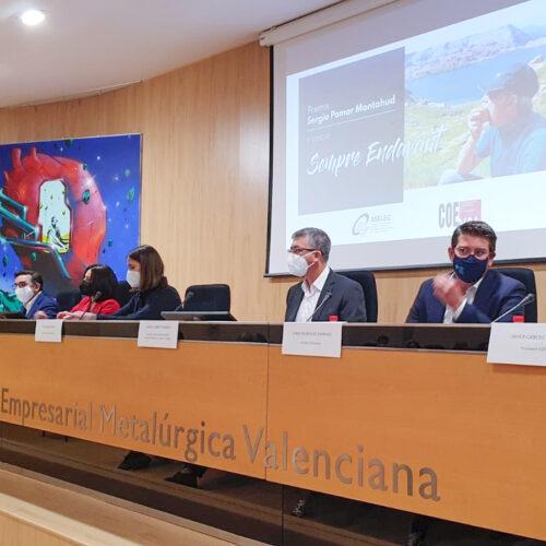 Presenten els premis 'Sempre endavant', en homenatge pòstum a Sergio Pomar