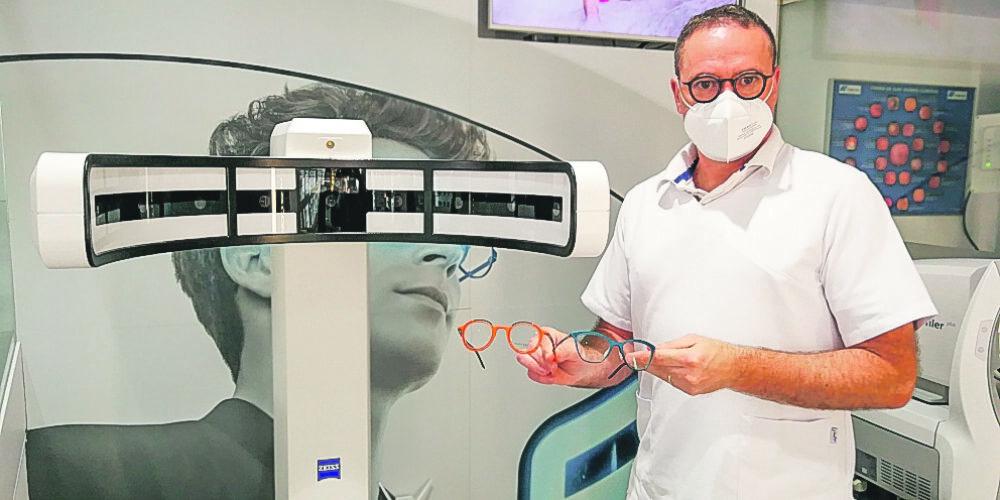 Claravisión, pionera en ulleres 3D completament personalitzades