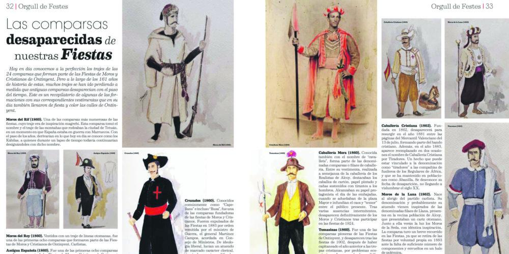 La revista 'Orgull de Festes', un vincle emocional que lliga amb els Moros i Cristians