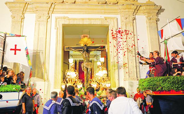 El Crist baixarà el dissabte 21 d'agost i recorrerà tota la ciutat El Periòdic d'Ontinyent - Noticies a Ontinyent