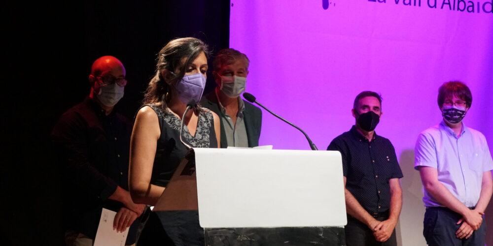 Elisabet Roig, guanyadora del 27 premi de Literatura Eròtica per 'Tancament perimetral'