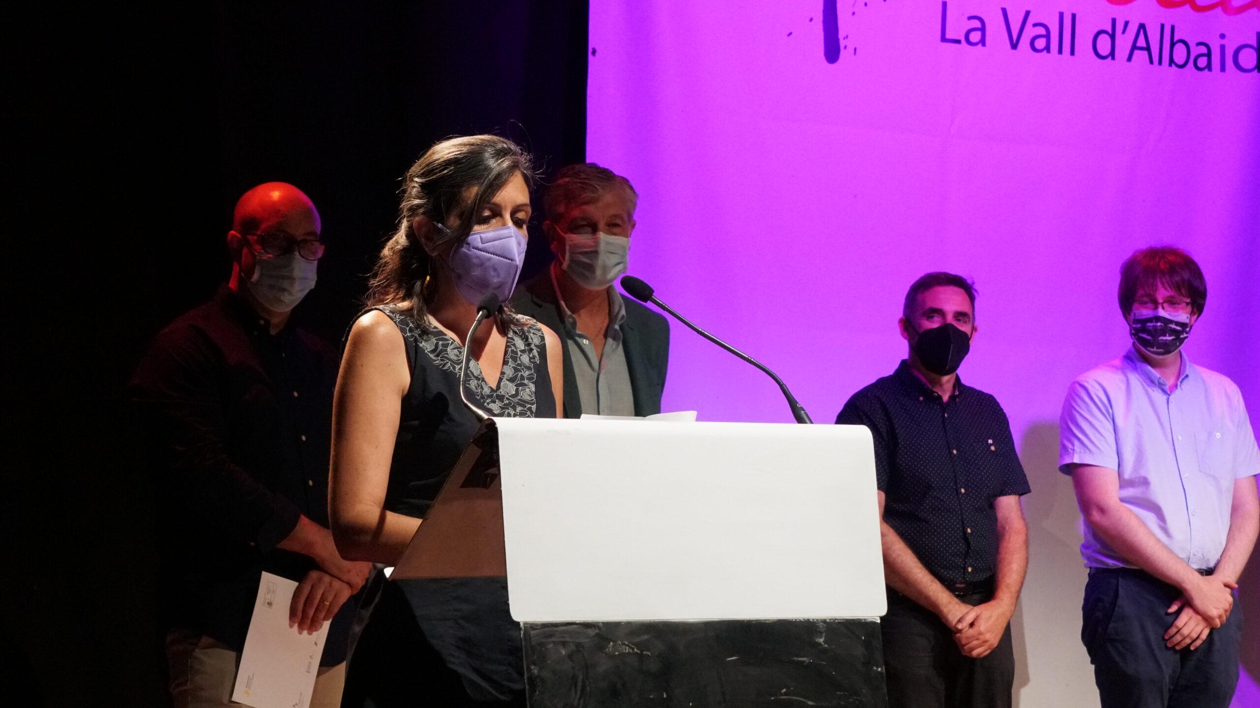 Elisabet Roig, guanyadora del 27 premi de Literatura Eròtica per 'Tancament perimetral' El Periòdic d'Ontinyent - Noticies a Ontinyent
