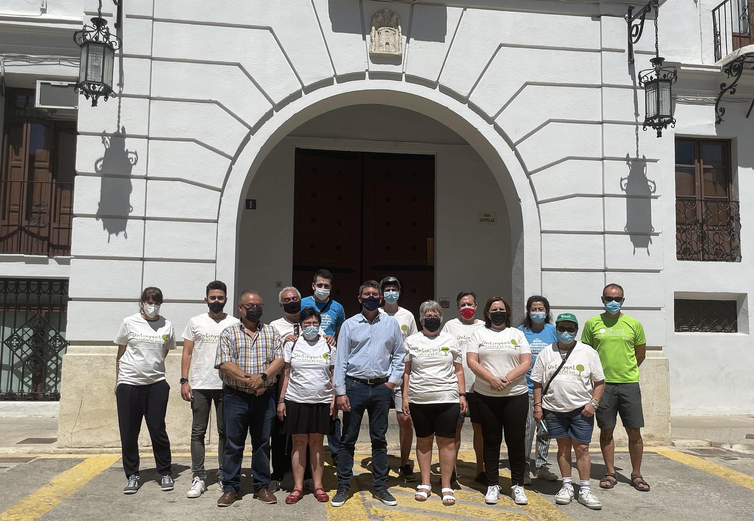 Dos voluntàries d'Ontinyent contra el foc salven la vida d'un jove a la zona de Gamellons El Periòdic d'Ontinyent - Noticies a Ontinyent