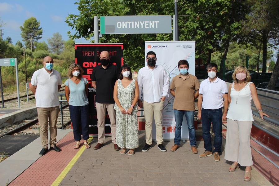 La campanya 'On està el meu tren?' de Compromís arriba a Ontinyent i la Vall d'Albaida El Periòdic d'Ontinyent - Noticies a Ontinyent