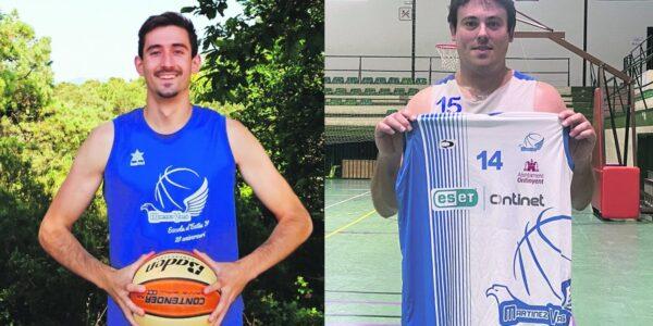 Iker Barbero i Vicent Galbis, noves cares de l'Eset-Ontinet