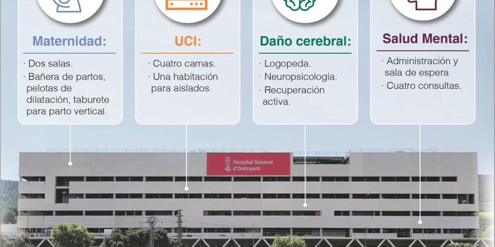El nou hospital tindrà dues sales de part humanitzat