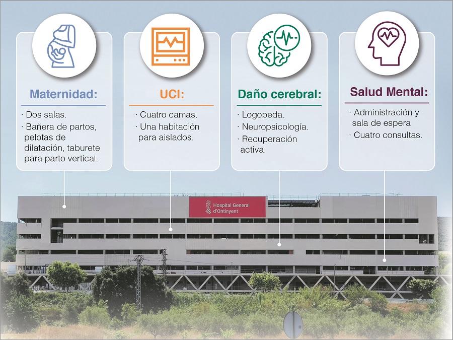 El nou hospital tindrà dues sales de part humanitzat El Periòdic d'Ontinyent - Noticies a Ontinyent