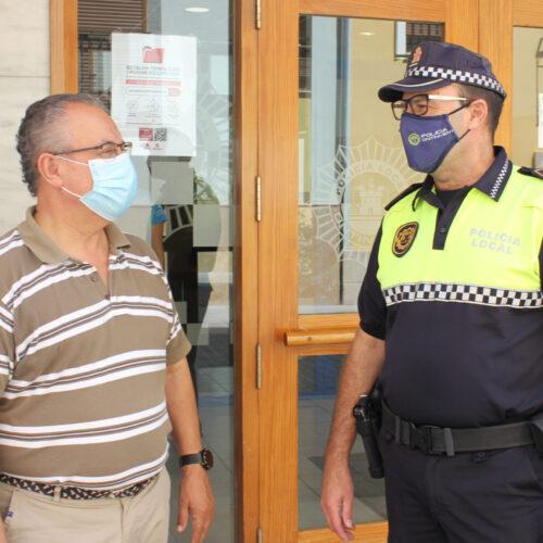 La Policia Local, el pont de diàleg perquè ambdues parts arriben al mateix punt