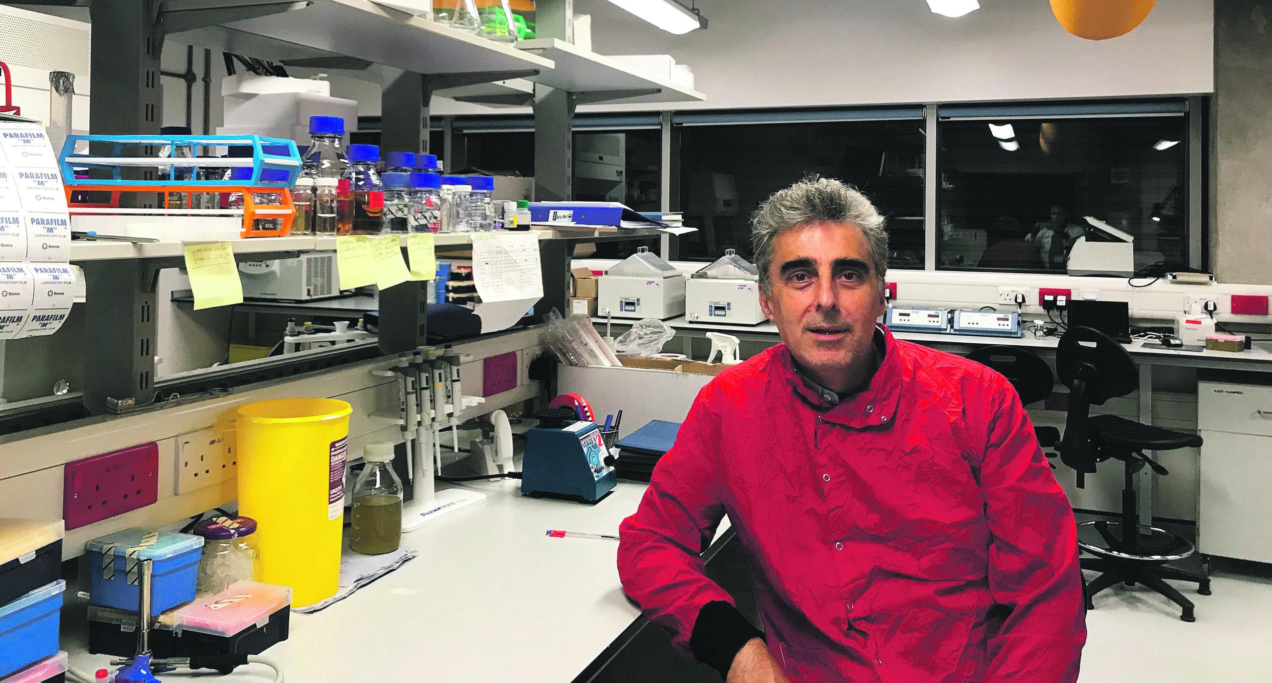 José Rafael Penadés, en el camí d'assolir una fita històrica: frenar la crisi dels antibiòtics El Periòdic d'Ontinyent - Noticies a Ontinyent