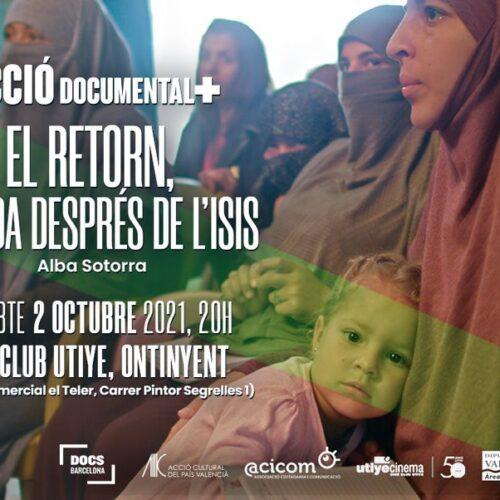 L'Utiye acull hui, 2 d'octubre, 'El retorn. La vida després de l'ISIS', baix la mirada d'Alba Sotorra