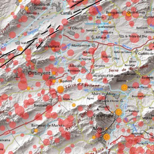 La Vall d'Albaida, una de les zones amb més risc sísmic