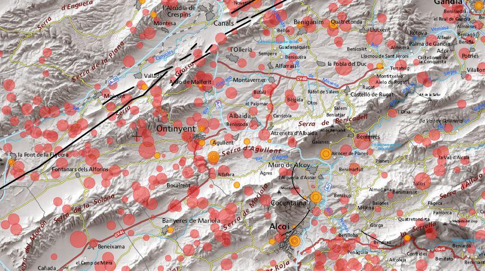 La Vall d'Albaida, una de les zones amb més risc sísmic El Periòdic d'Ontinyent - Noticies a Ontinyent