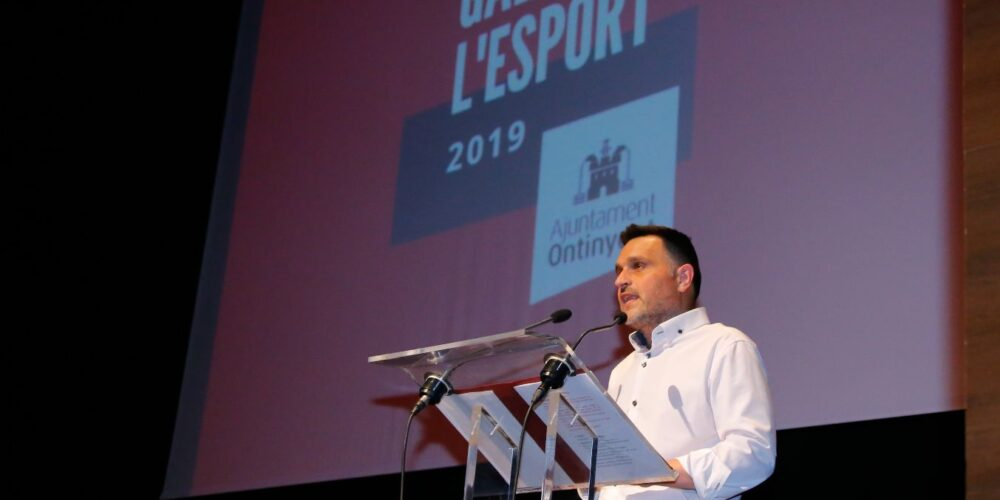 Dos anys després, la Gala de l'Esport premia  als esportistes locals en l'Echegaray a causa de la pluja