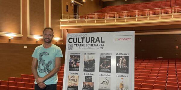 El teatre Echegaray obri el teló de la cultura segura