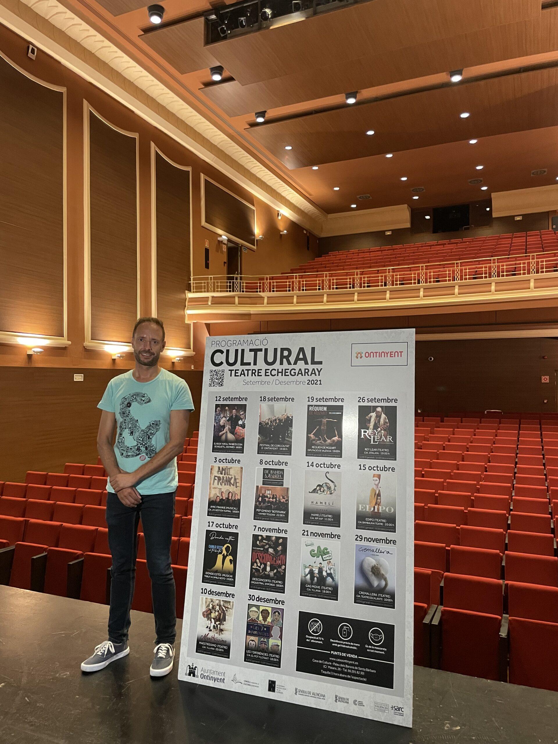 El teatre Echegaray obri el teló de la cultura segura El Periòdic d'Ontinyent - Noticies a Ontinyent