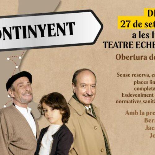 L'Alqueria Blanca, aquesta vesprada al Teatre Echegaray