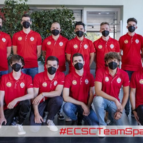 Raúl Ojeda participa amb la selecció espanyola a l'European Cyber Security Challenge