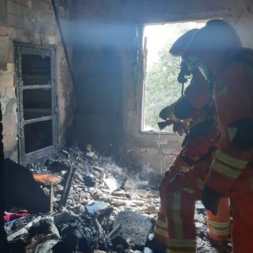 L'incendi en l'avinguda Almansa, sense ferits