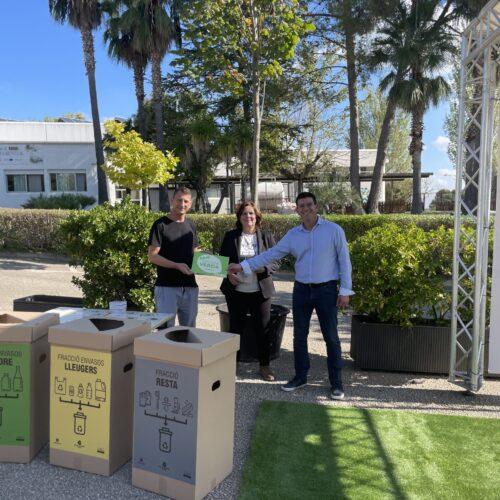 El Bonavista pinta el futur de verd amb l'autocompostatge en la seua gestió de residus