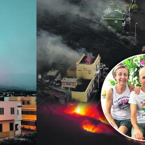 Ontinyent en La Palma: una família de la ciutat afectada pel volcà
