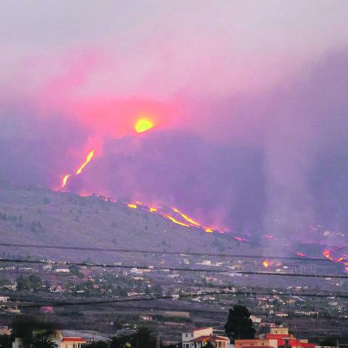 La família ontinyentina en La Palma viu una segona evacuació